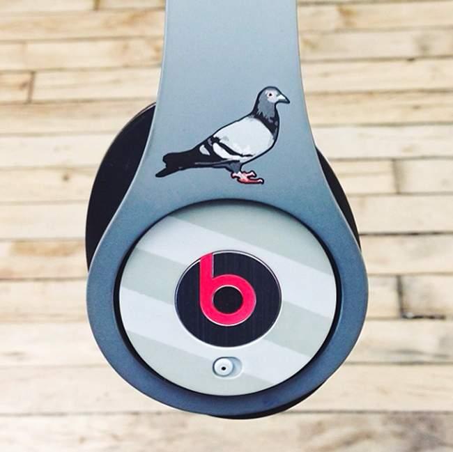 staple pigeon beats dr dre