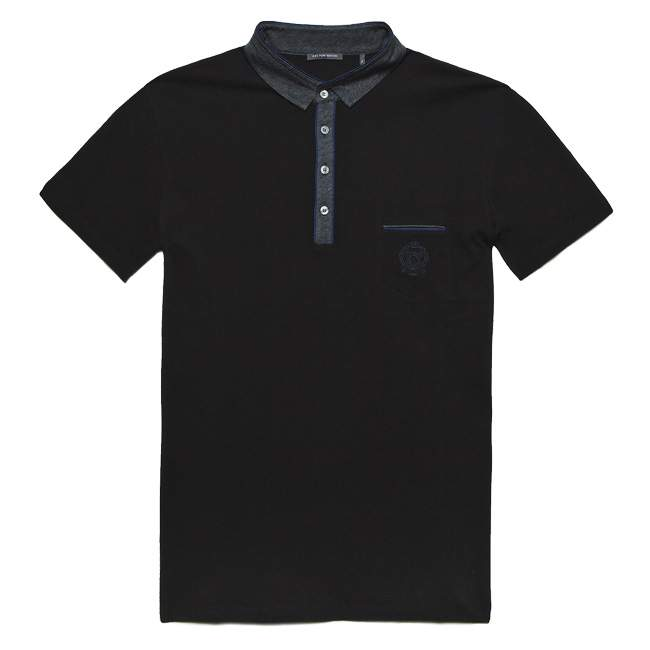 BEAU EN POLO IKKS BLACK