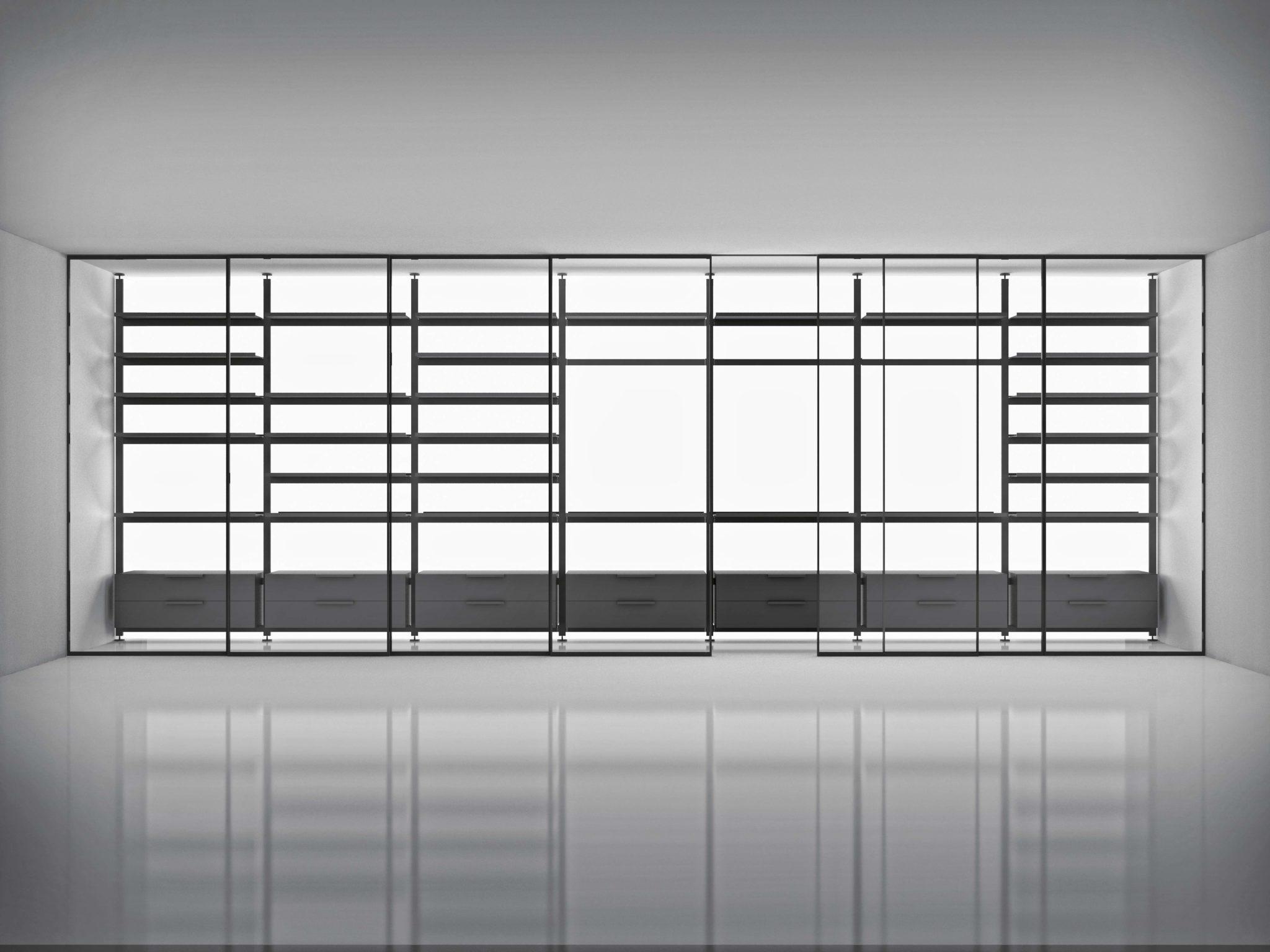 Greene doors and Brompton bookcase