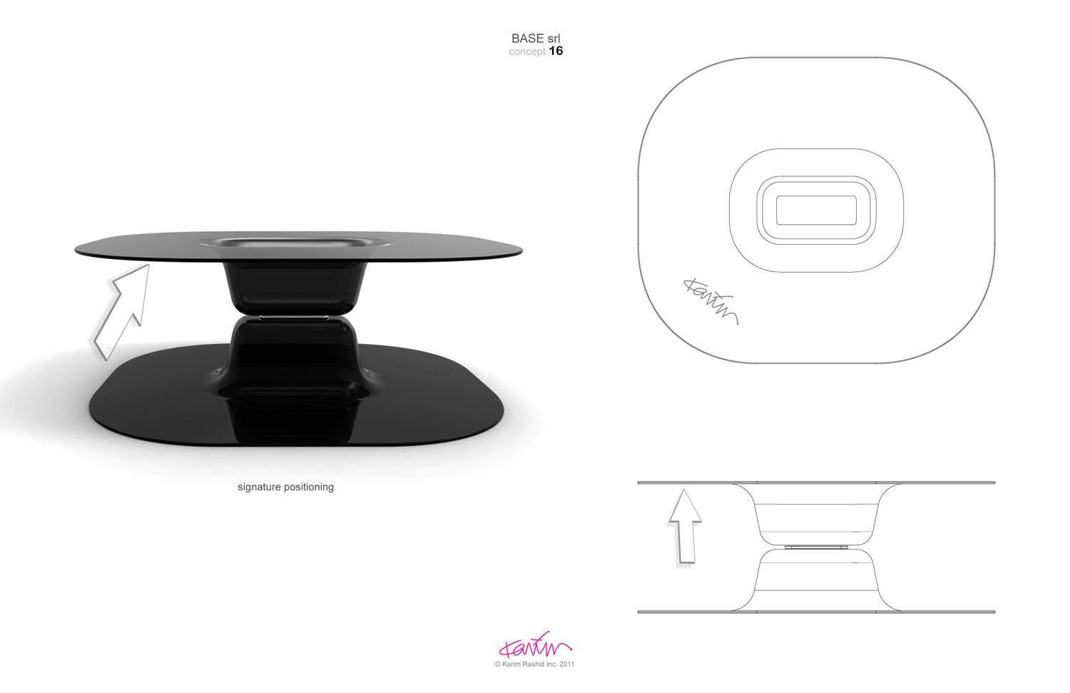 UPSIDEDOWN Table Limited edition, for Base, Italy 2014 2701_1568413305251500898_o