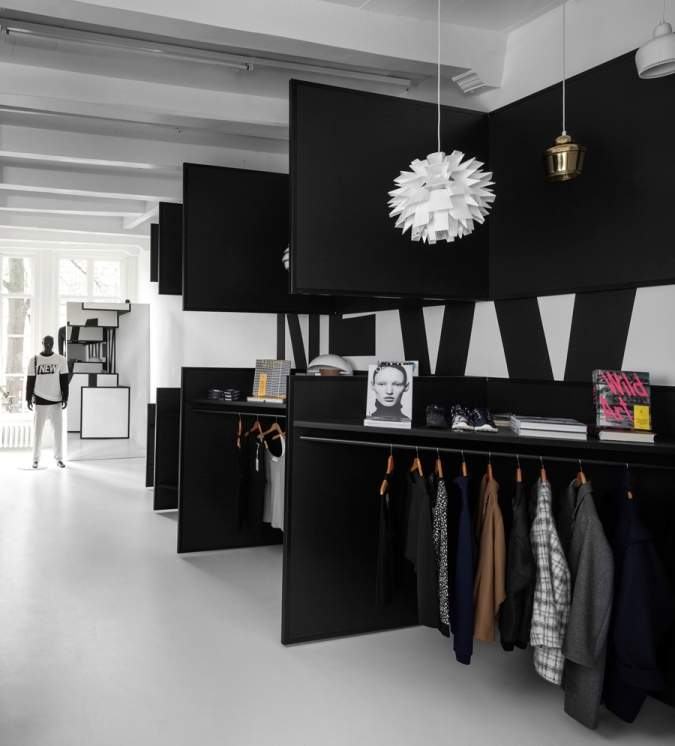FRAME STORE Amsterdam par i29 Architects
