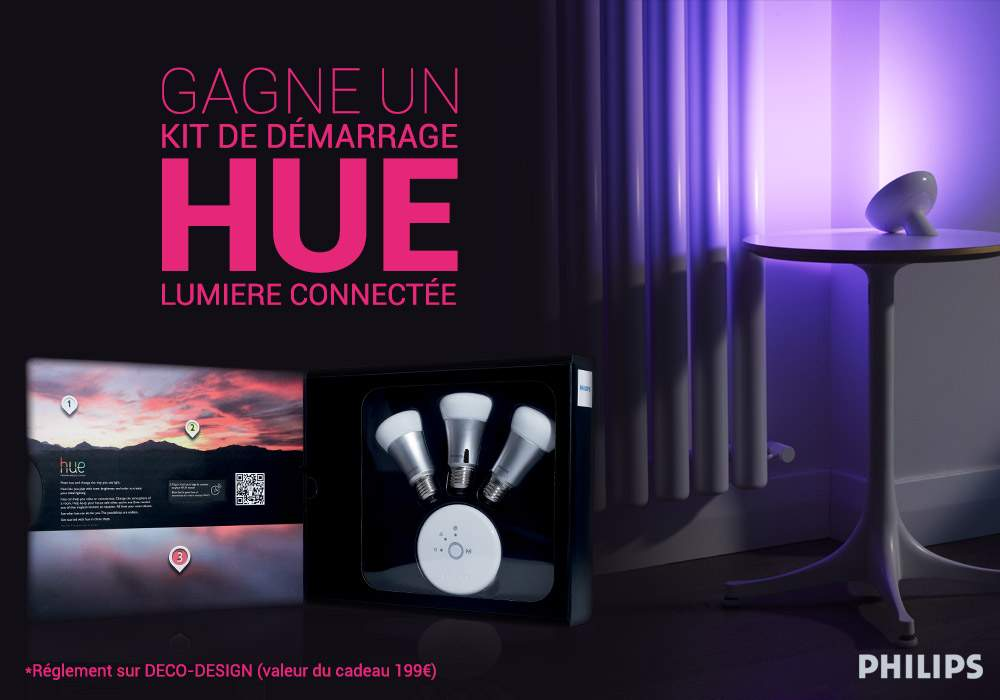 CONCOURS HUE PHILIPS