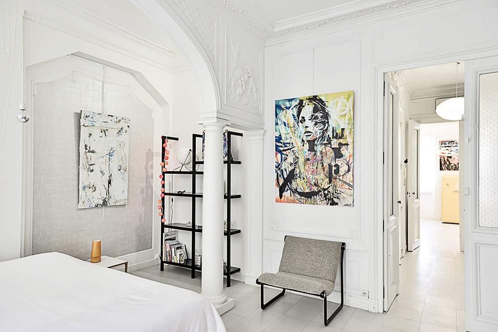 L'APPARTEMENT - Chambre d'Art **** à Marseille Deambulations-urbaines-Chambre_Fava-JMRobert