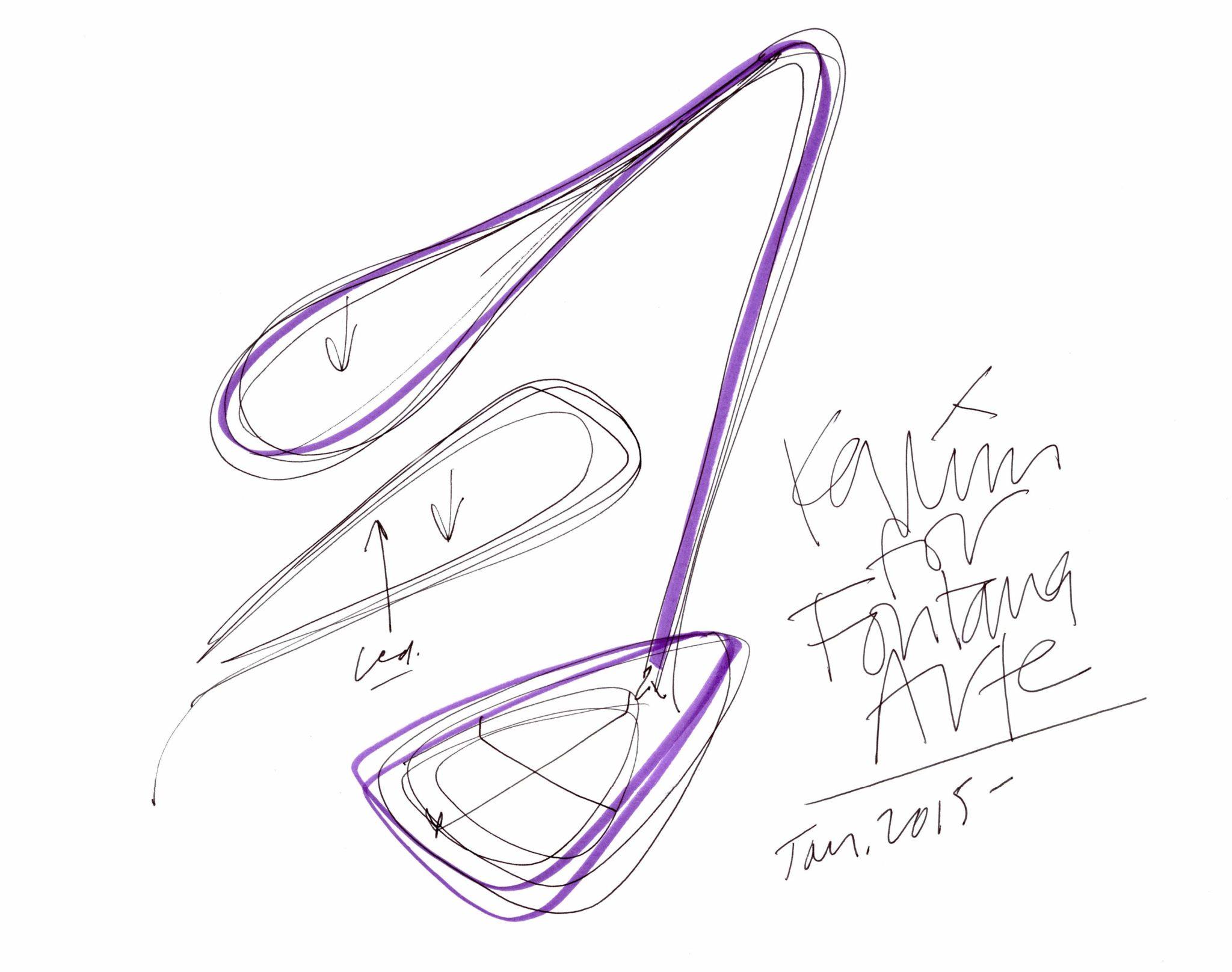 Fontana_Arte_Karim Sketch_2