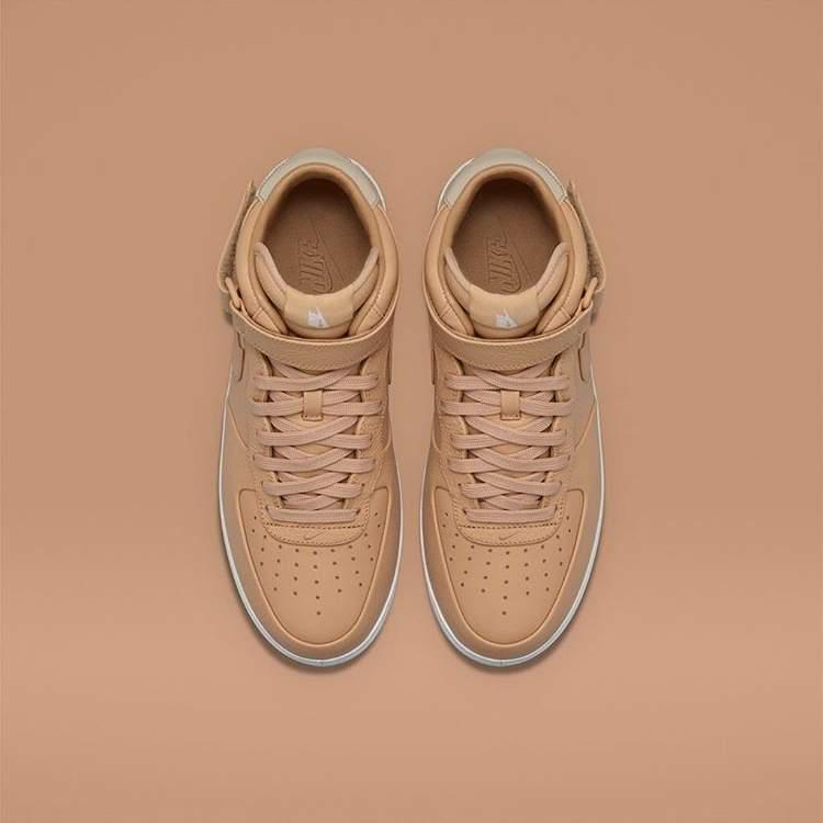 BLOG NikeLab Air Force 1 Mid Tan blog sneakers_2