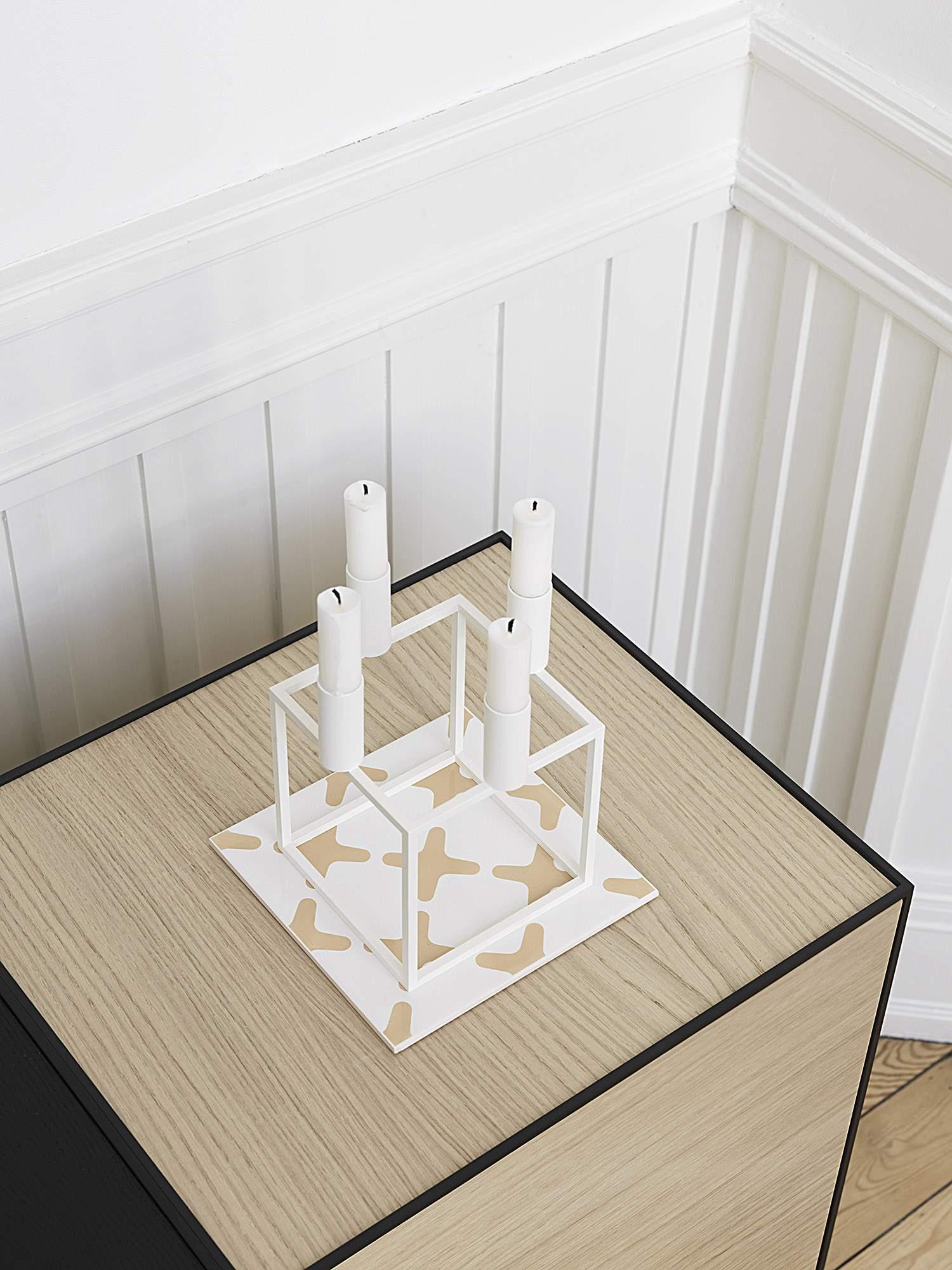 Chandelier KUBUS design 1962 - Mogens LASSEN