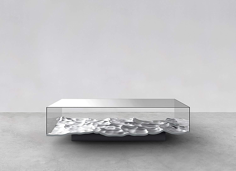 Liquid Aluminum Table 02