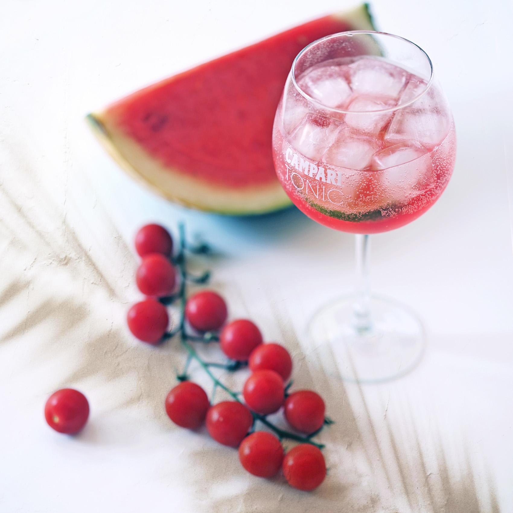 Recette Cocktail CAMPARI TONIC