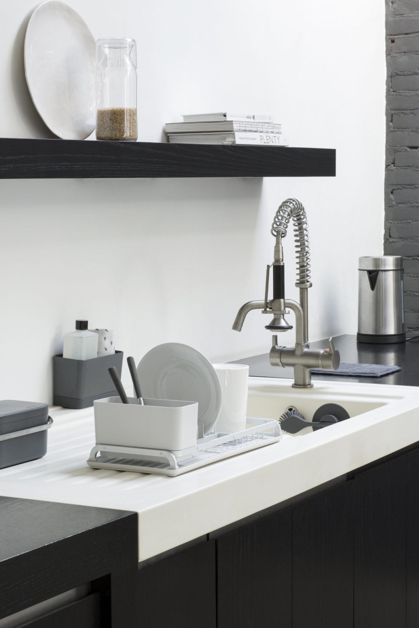 Egouttoir à vaisselle design SINK SIDE | BRABANTIA