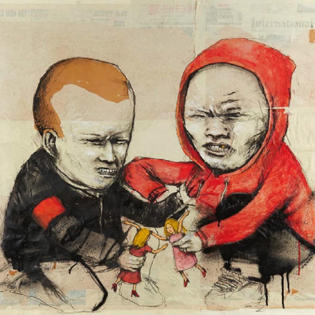 mural graffiti artiste français Dran
