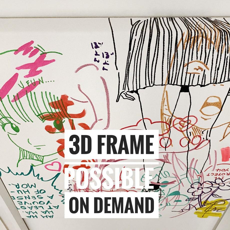 3D frame judas arrieta