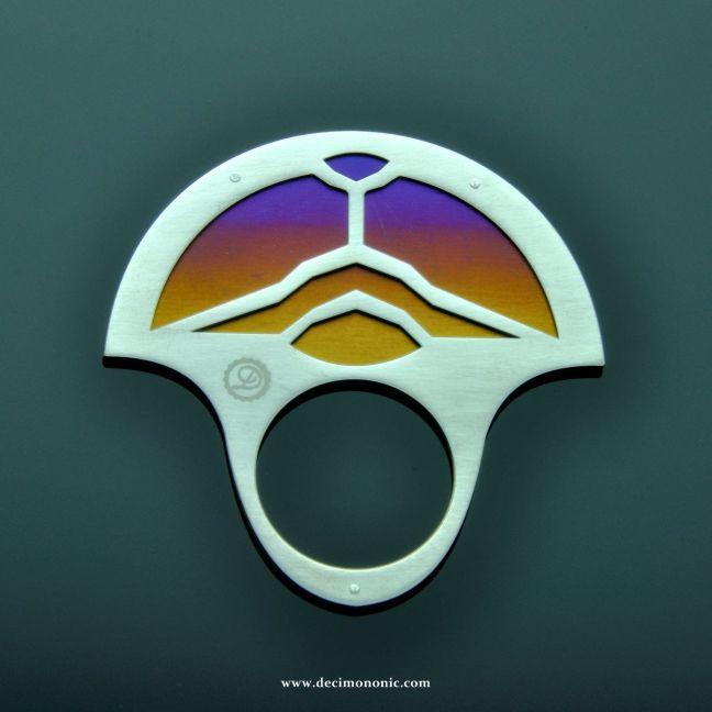 Decimononic - Metropolis Collection - Babylon Ring