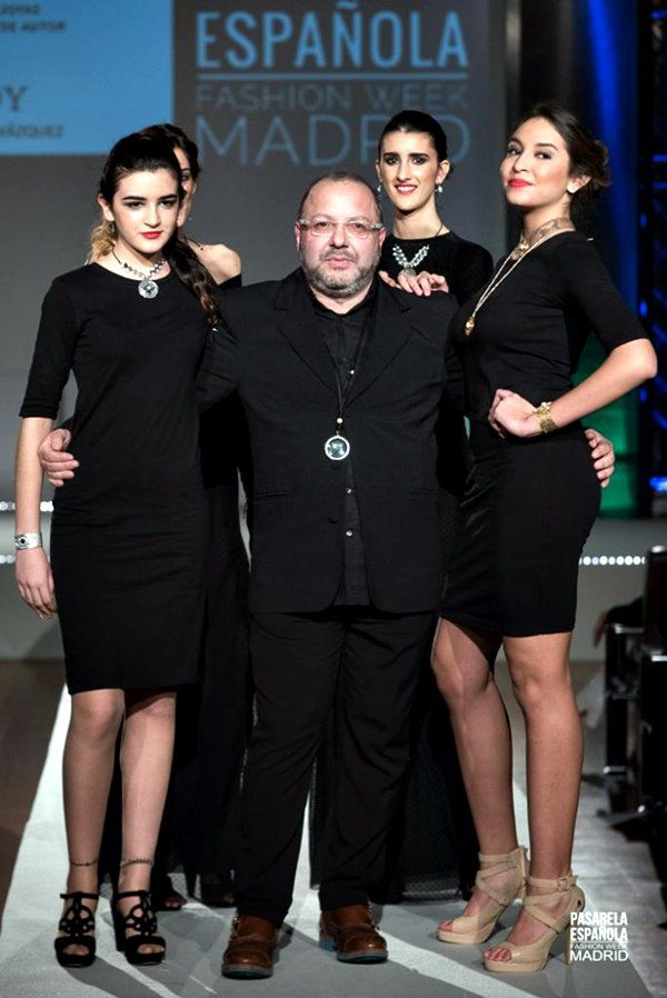 Abraham Vázquez de A.D.Y. en Pasarela Española Fashion Week 2018
