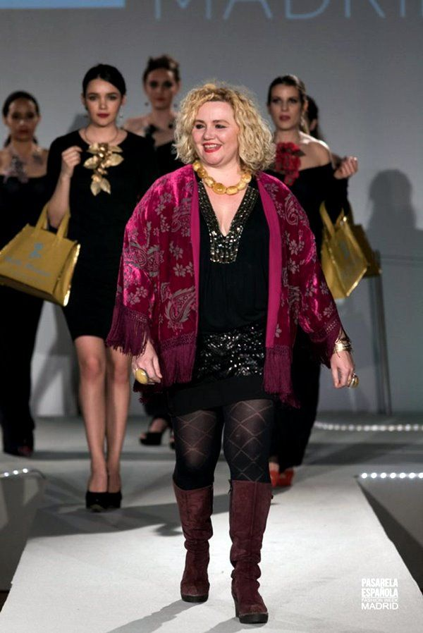 Raquel Lobelos de Tabata Morgana en Pasarela Española Fashion Week 2018