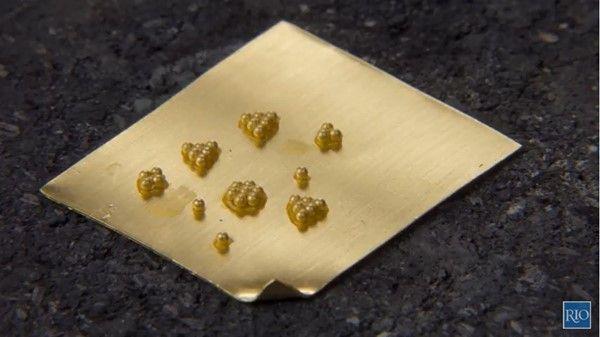 Jeanette Caines - Vídeo Riogrande - granulación de oro