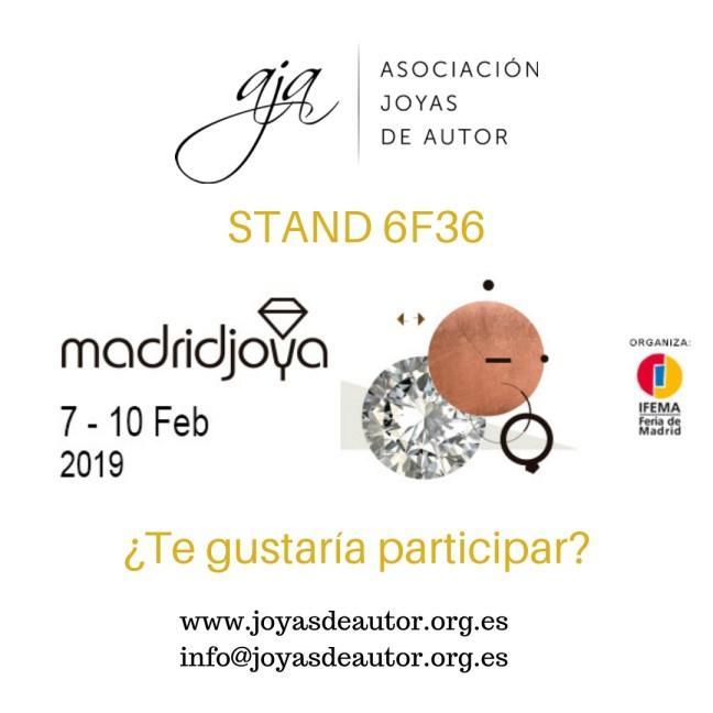 Asociación Joyas de Autor en MadridJoya 2019