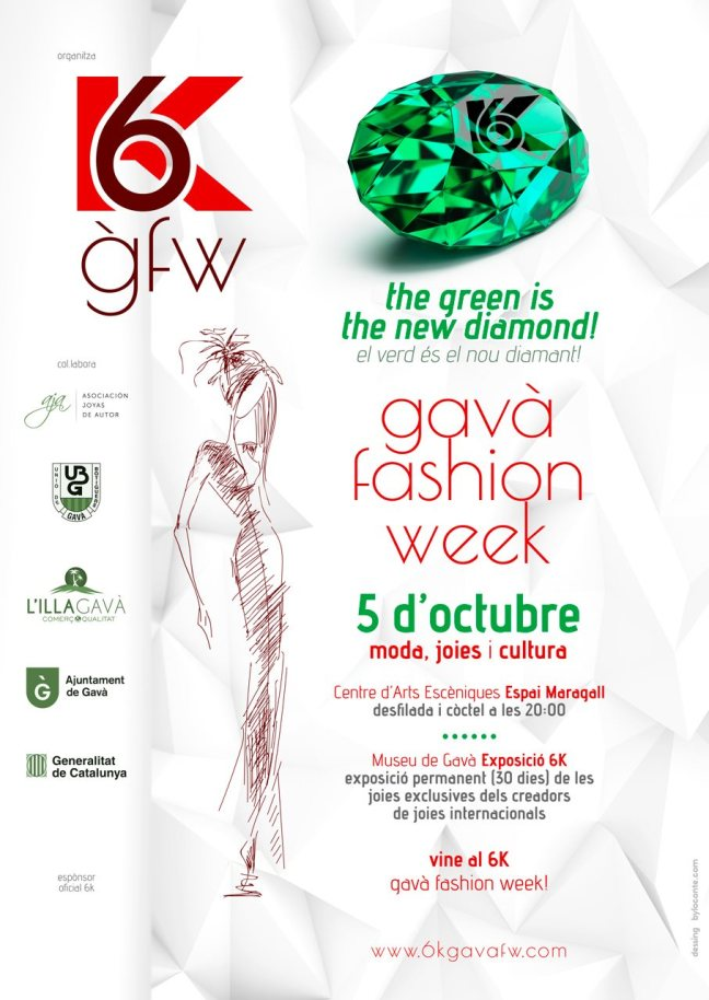 6k Gavá Fashion Week 2019 - La joyería de Autor pone en valor la variscita