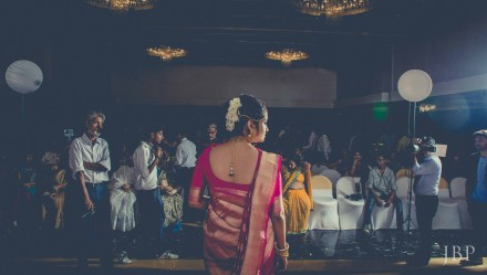 Bride during Reception | Bengali Destination Wedding | Fine Art Wedding Photographer Kolkata