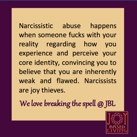 definition of narcissistic abuse
