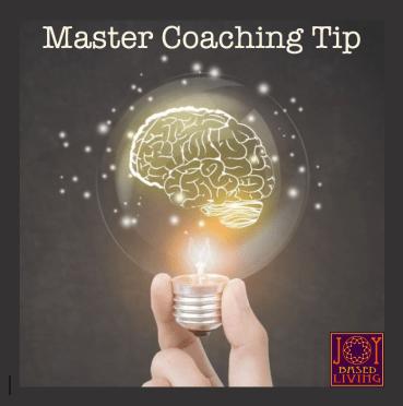 Master Coaching Tip