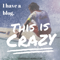 My thoughts on having a blog.