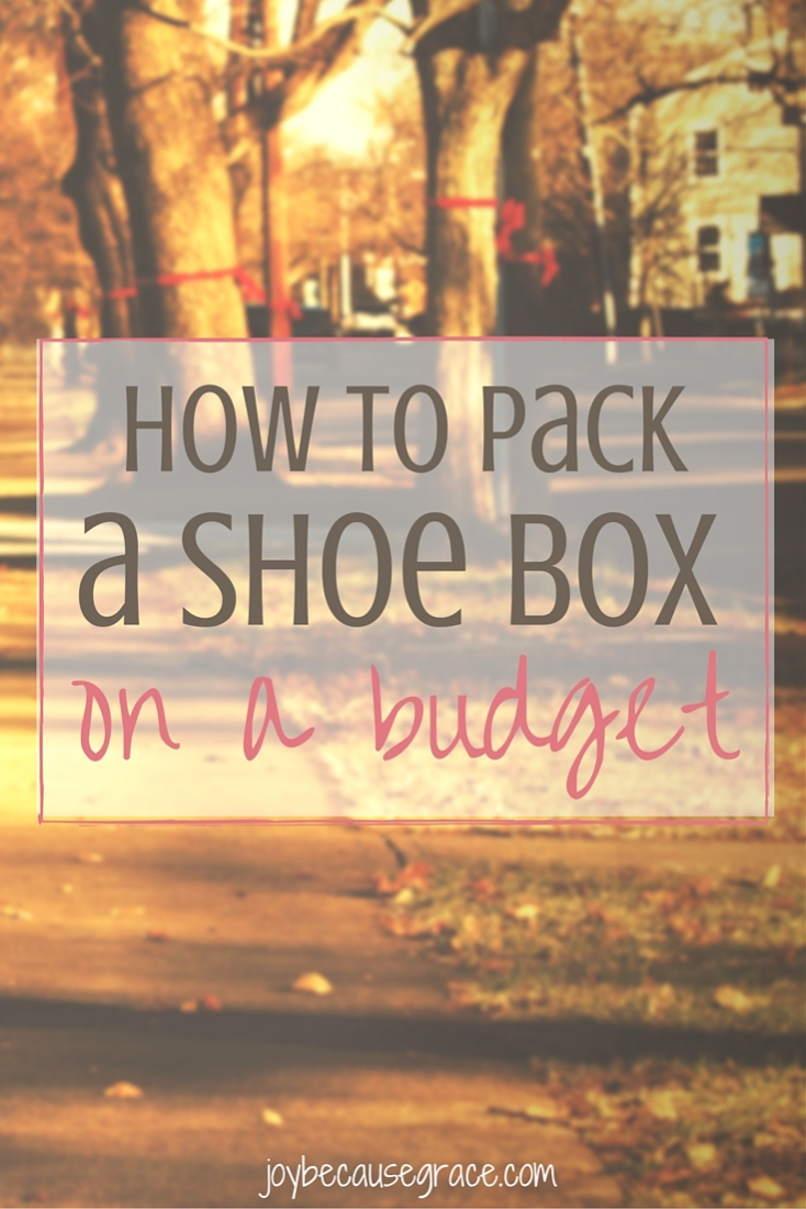 Thinking you can't pack an OCC shoe box because of money? Packing shoe boxes doesn't have to be expensive. Here's how to pack a box on a budget.