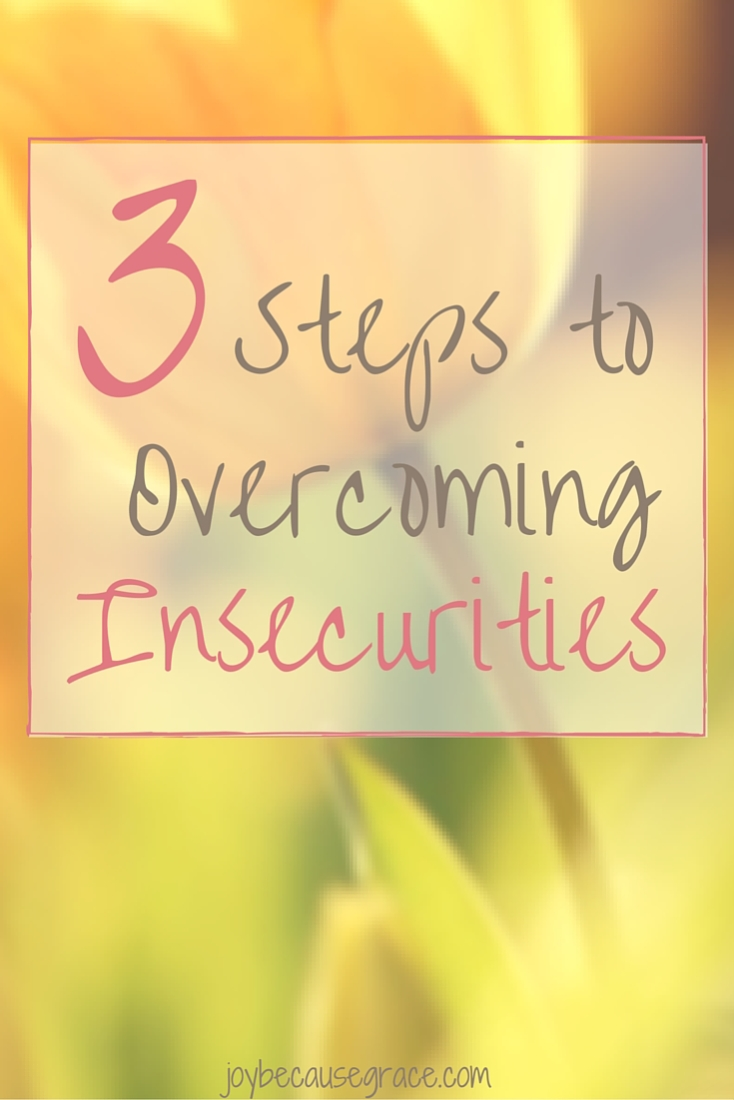 Insecurities keep us bound. They hold us back from discovering our potential in God. Insecurities are lies from the devil and even though they are not easy to overcome you can overcome them.