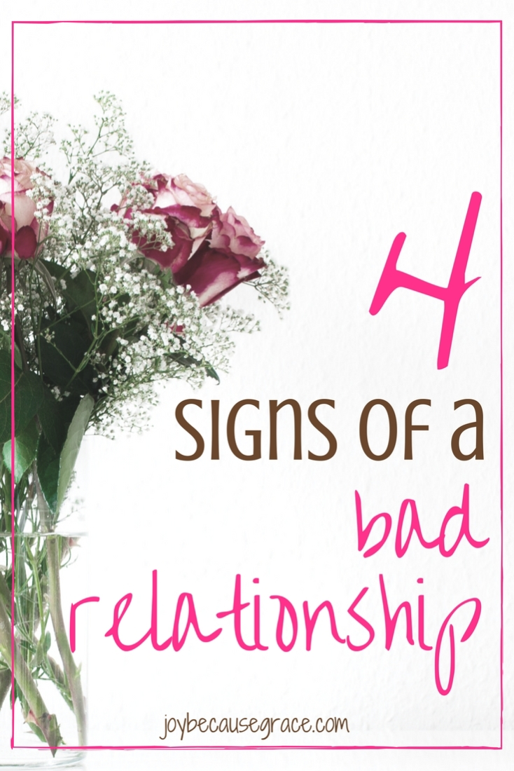 Warning signs in dating relationships