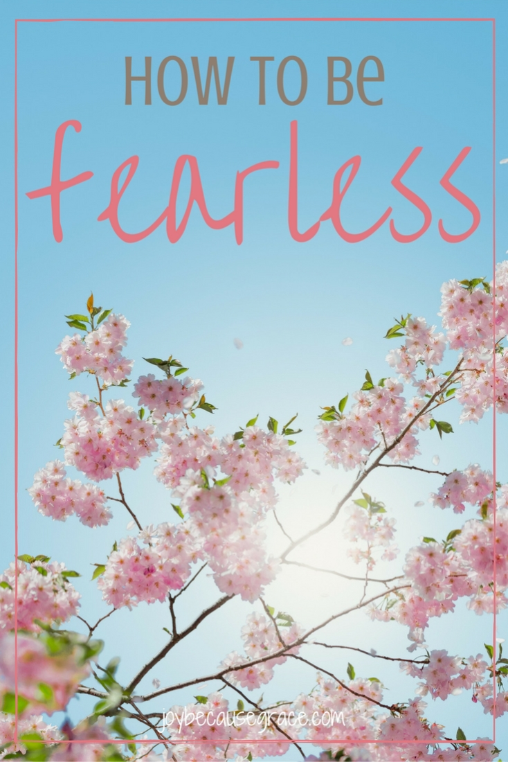 When we have a correct view of God and understand how He loves to protect us, we realize He doesn't want us to be afraid. He wants us to be fearless.