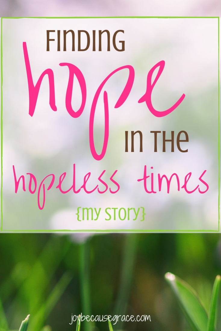 Finding hope in the hopeless times (3)