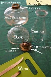 How to clean antique oil lamps | Joybilee Farm | DIY ...