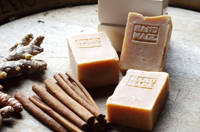 Pumpkin Spice Soap feature