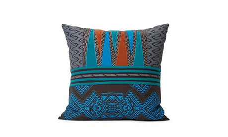 victoria teal pillow