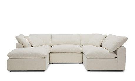 u sofa cheap sofas in las vegas nv bumper sectional versatility comfort joybird quick view bryant 5 piece