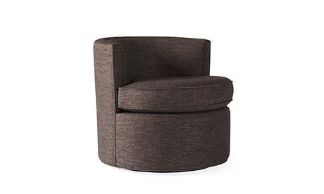 swivel chair inventor folding rentals nj mid century modern chairs joybird quick view carly