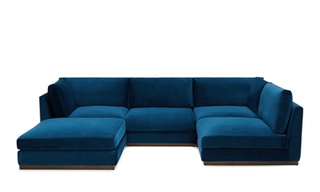 u sofa kensington bed cream sectionals versatility comfort joybird quick view holt armless sectional