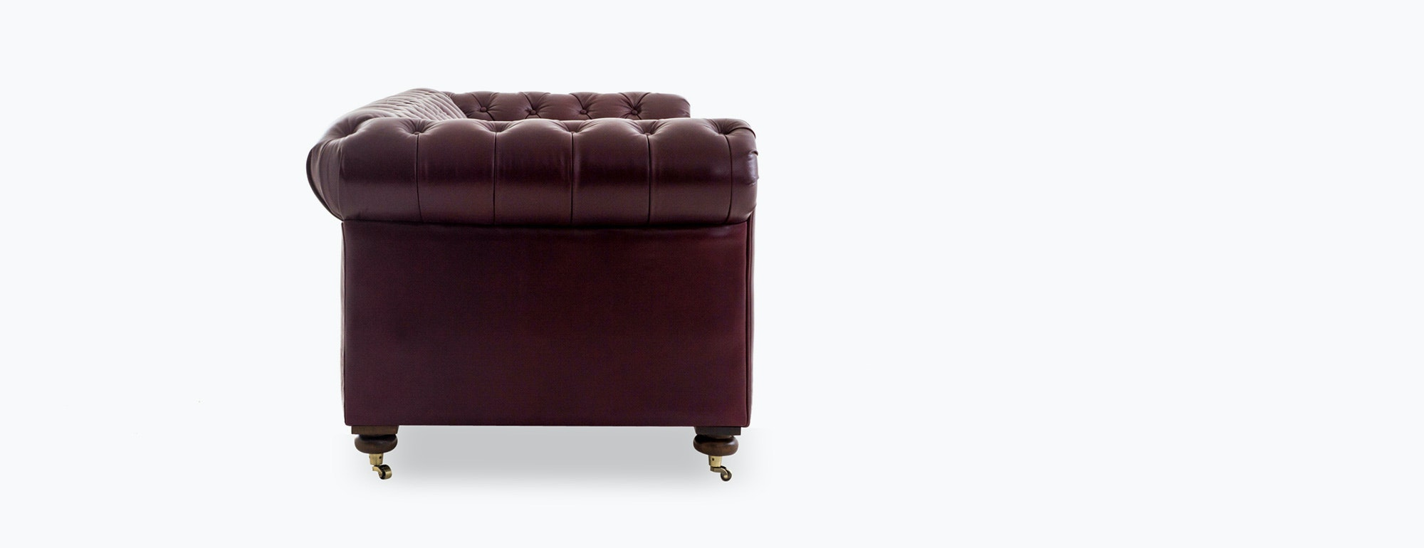 plum leather sofa corner lounge with bed and recliner theo joybird