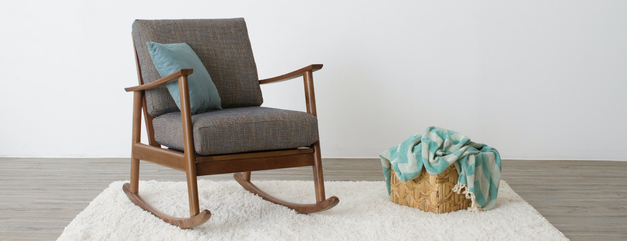 Teal Rocking Chair Paley Rocking Chair Joybird
