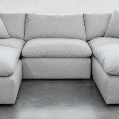 U Sofa Fabric Sets Sri Lanka Bryant Bumper Sectional Joybird Main Gallery Image