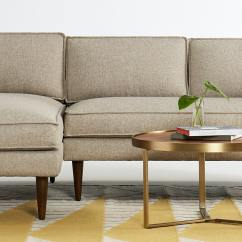 Sunbrella Fabric Sectional Sofas Leather Sofa Sticky After Cleaning Serena | Joybird