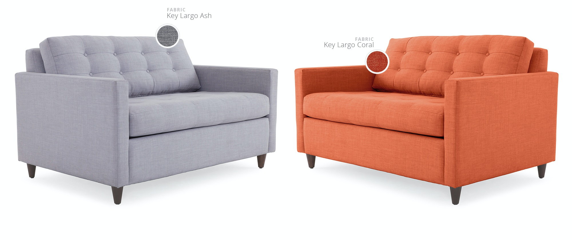 sleeper chair twin west elm leather eliot joybird shop by color