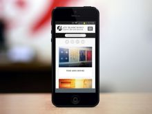 iPhone Portrait - Portfolio Page