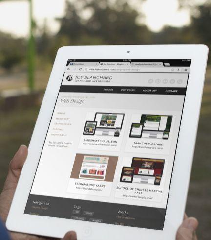 iPad Portrait - Category Page