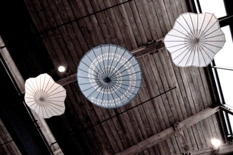 Ceiling umbrellas