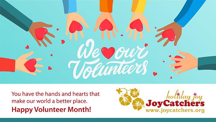 JC Volunteer Month Banner
