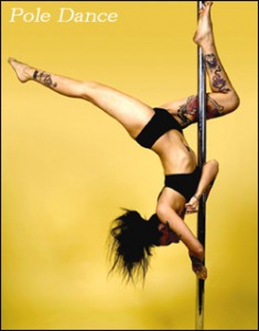 pole dancing is fun exercise