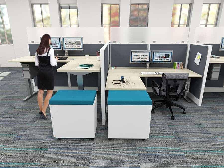 Height Adjustable Office Desks Corner Desks  Standing