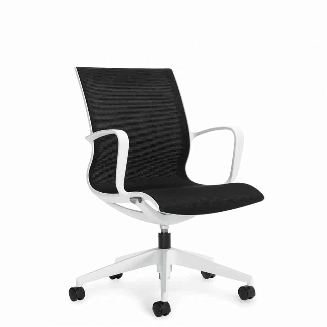 swivel lounge chairs kohls rocking chair cushions global solar mesh back and seat conference room chair- joyce contract