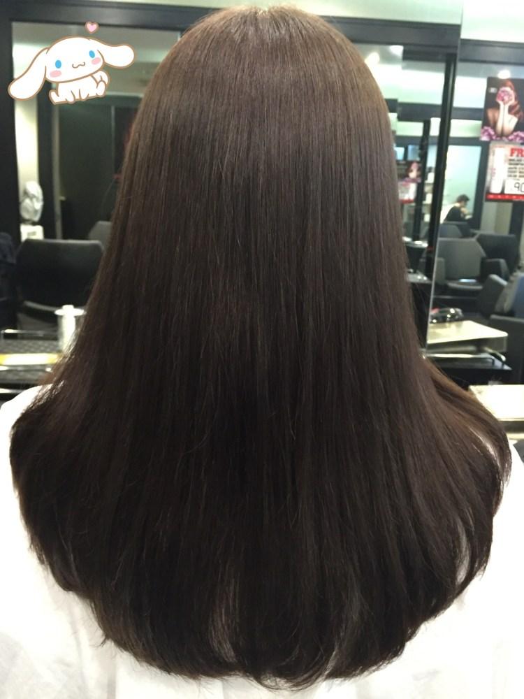 olive brown hair