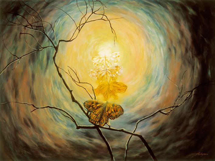 "Transformation"" giclée print | Joyce Huntington Art"